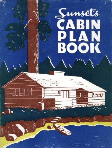 Sunset Log Cabin Plan Book Rare Diy Books Ebay