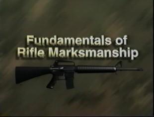 USMC Marines Manual - Rifle Marksmanship